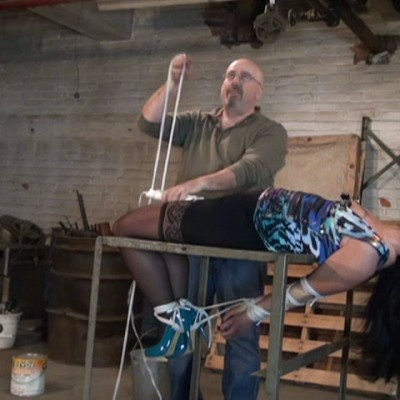 Nipple Clamped Forced Orgasm Torment