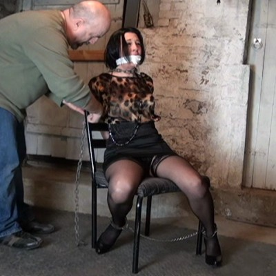 Chained to a Chair for Asphyxiation Execution