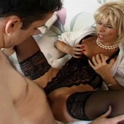 2384 Young Son banged sweet ass  her beautiful Mom  in different positions