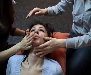 Face And Throat Massage