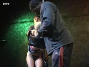 Striper Double Raped Strangled Leah